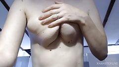 Long saggy tits.