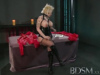 Gothic porn hardcore video Bdsm xxx sexy spanish sub gets a rude awakening