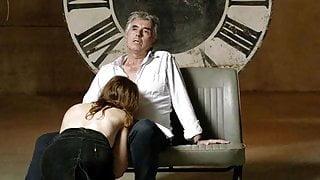 Antje Monning Topless Blowjob on ScandalPlanet.Com