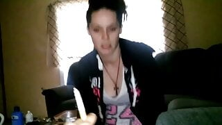 Ex-Girlfriend loses a bet and has to give a blowjob