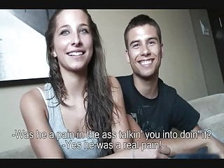 Young porn movie site First porn movie young couple from barcelona