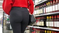 Sexy ass in spandex