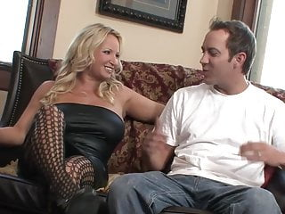 Rachel love transgender - Blonde mature milf natural big tits in fishnet