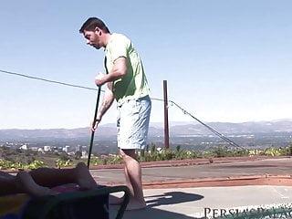 Bikini blox Persia monir - jack the pool boy