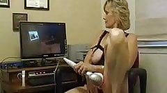 Check My MILF getting her ass fucked in red lingerie