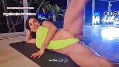 Perfect Fitness Camel Toe and Pussy