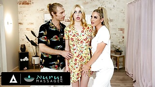 NuruMassage – Chloe Cherry Has Intimate Massage With Strangers