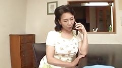 Japanese Mom caught by stepson