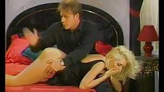 glamorous American blonde groped