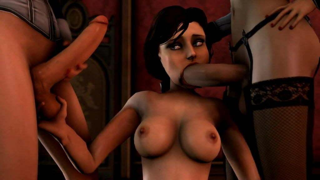 Bioshock 3D sex compilation porn