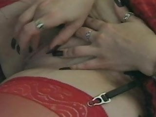 Dildo up the butt - Mature redhead chubby fucked up the butt