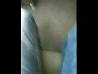 Teen wearing a thong Thong slip - co worker wearing a candid white thong