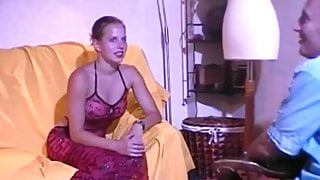 Amandine Sexier than ever in Interview