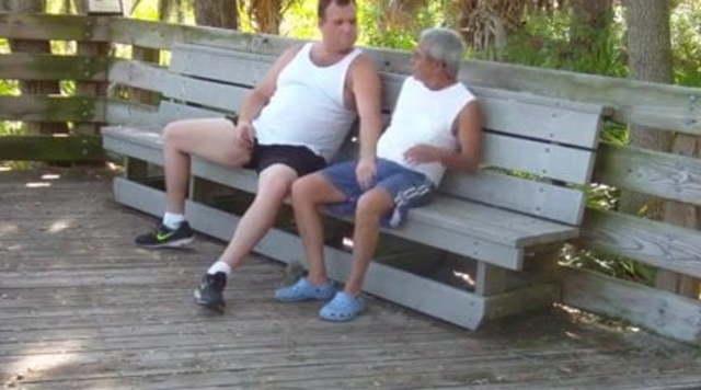amateur mature gay public sex