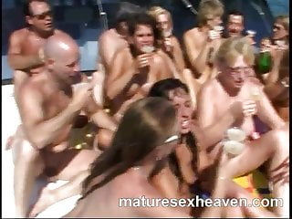 Luring women on yacht for sex Me and my friends more yacht orgy part 4