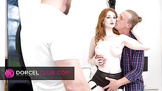 Zara Durose, two men and three orgasms