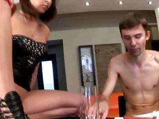 Mistress lick the soap - Femdom slave life