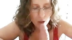 BBW Wife Gets a Facial Reward