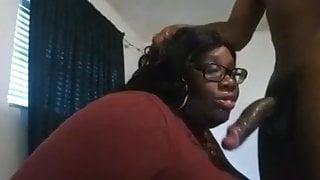 Busty Ebony Bbw Milking BBC