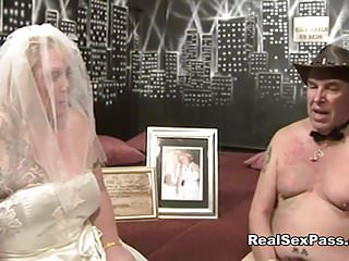Brides pics sex Old fat filthy bride has orgy along with bridesmaid