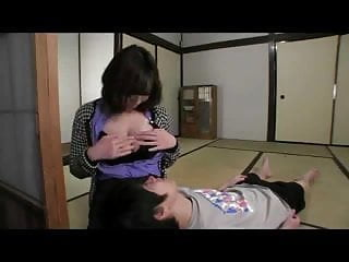 Girl drinks breast milk Kahala minako-breast milk when squeezed so much clip2 by tom