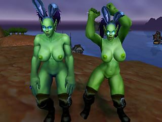 Warcraft porn - Warcraft female orc bitches