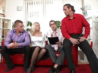 Sedution porn longer flash - Hot blondie cries as she could not tolerate the gangbang any longer
