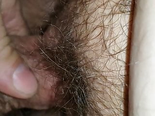 Mature pussy creampie Ssbbw hairy pussy creampie and outside