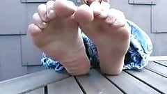 More feet on table