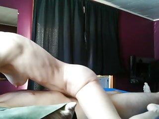 Hornie milf cougar Horny milf rides young boy toy