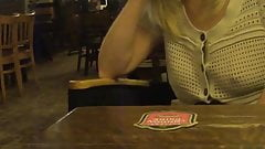 Wife Flashing in Pub