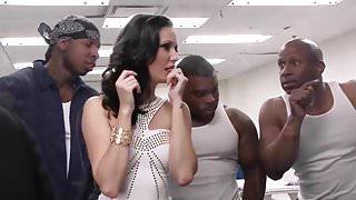 Three Black Prisoners for a White Slut