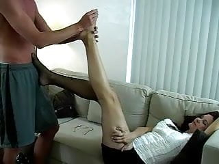 How makingout leads to sex videos Foot massage leads to sex and a foot job