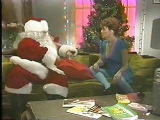 Vintage santa image fire truck - Charlie latour - santa comes again 1990