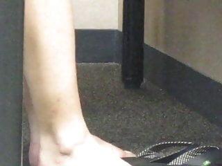 Bare feet fetish video Candid feet: bare feet play