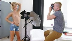 Super Cute Blonde Czech Casting