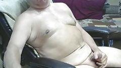 Handsome Mature Man Wanks