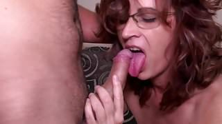 Hot milf and her younger lover 856