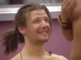 Big brother 9 james naked dance Striptease 3: jasmine strips totally naked at big brother