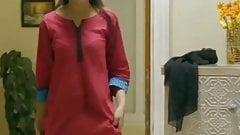 Desi Maid undressing-3
