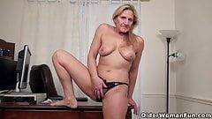 An older woman means fun part 60