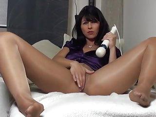 Sexy pantyhose xxx Desyra noir in sexy pantyhose