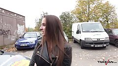 Takevan - Party girl get lost nad found by dude in van