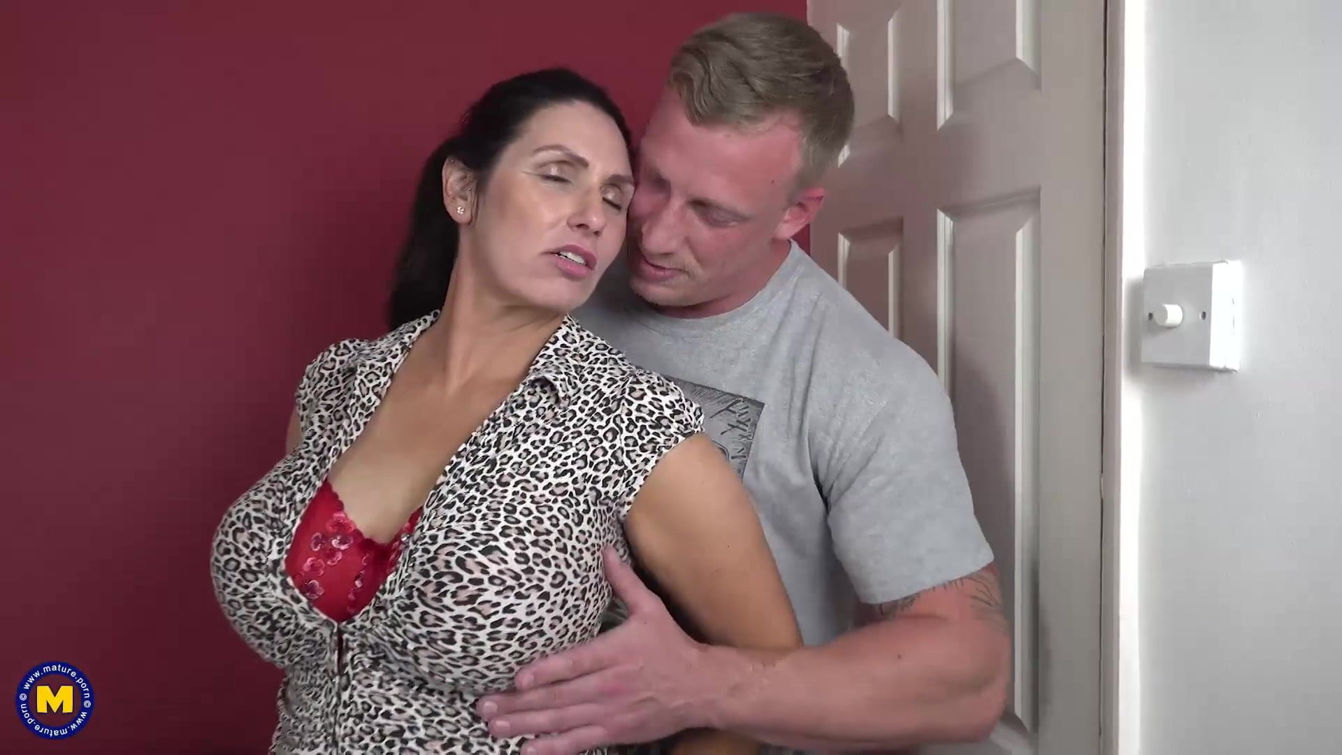 Step Son Fucks Milf Mom