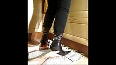 Stiletto Boots palm crush