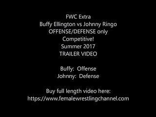 Dick lebeaus zone blitz defense - Buffy vs johnny offense - defense mixed wrestling