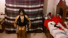 Dark Joselynne Cd In Mini Dress
