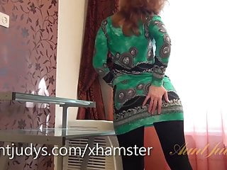 Porn strip tease videos Mature mandy gives you a sensual strip tease