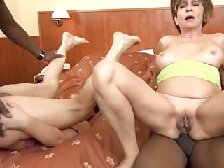 Grannys doing anal and gagging videos - Two grannies doing nasty things
