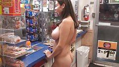 Latina Naked Shopping